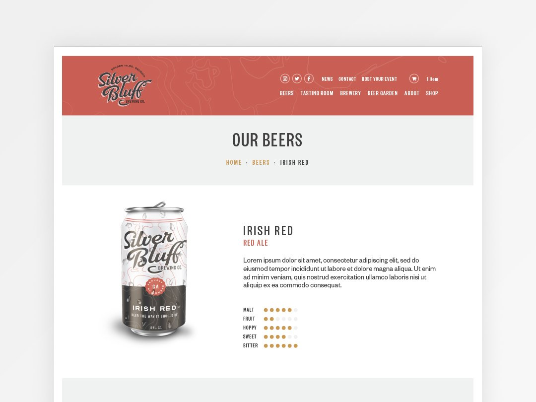 Brewery eCommerce Store