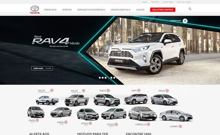 Toyota WordPress Website
